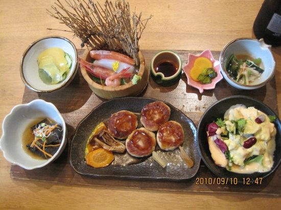 Fuwari : お昼ミニ懐石