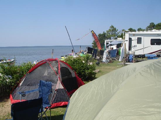 Rodanthe Watersports and Campground: tent/ RV sites