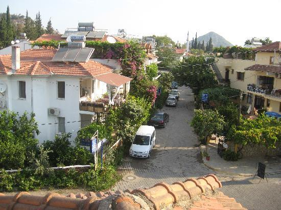 Metin Hotel: View from Balcony