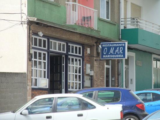 Restaurante O Mar: exterior 2