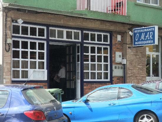 Restaurante O Mar: exterior 3