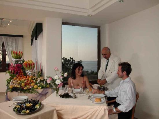 Hotel Villa Hibiscus: Sala da Pranzo Panoramica