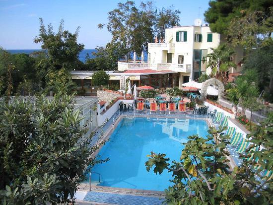 Hotel Villa Hibiscus: Vista della Piscina scoperta