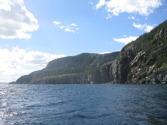 Trinity, Canada: Beautiful cliffs