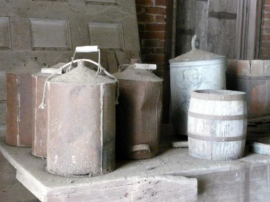 Natchez, MS: Longwood House, Hinterlassenschaften der Handwerker