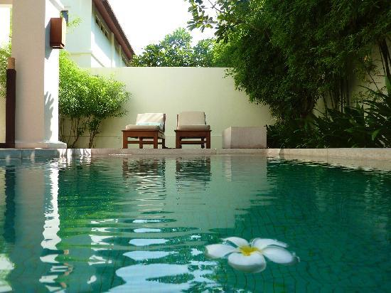 Choeng Mon, Tajlandia: Private Villa Pool
