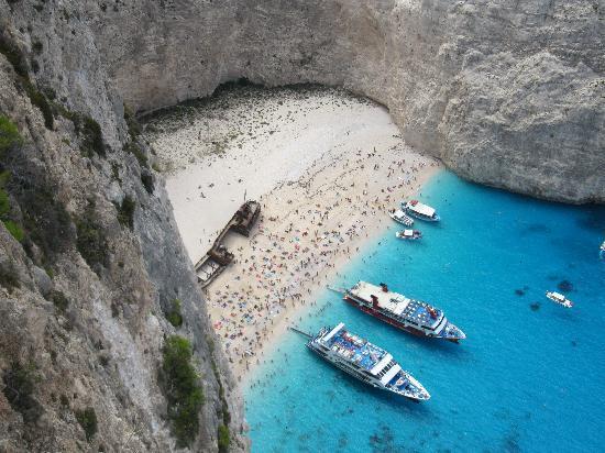 Zaquintos, Grécia: Schiffswrack