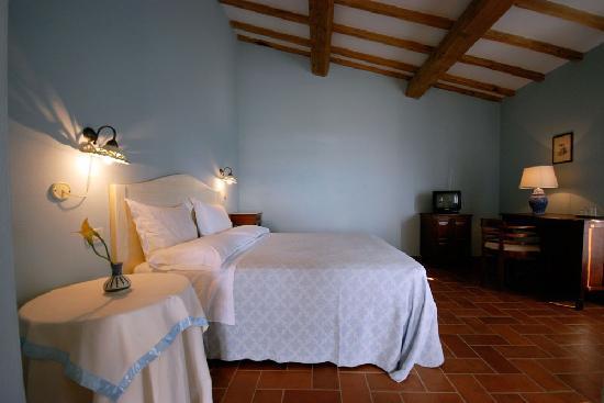 Roccalbegna, Itália: La camera azzurra