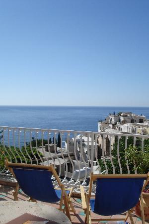 Hotel Villa delle Palme: terrace views (room 24)