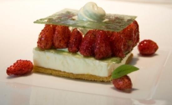 dessert at Pic