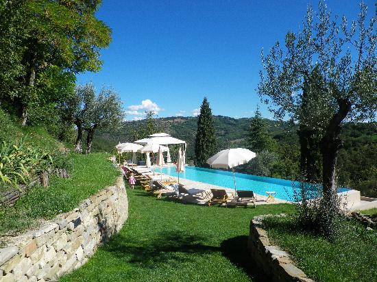 Borgo di Carpiano: Swimming pool area