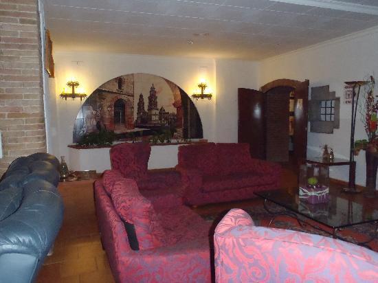 Castell Blanc Hotel: salon