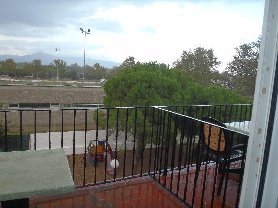 Hotel Castell Blanc : balcon
