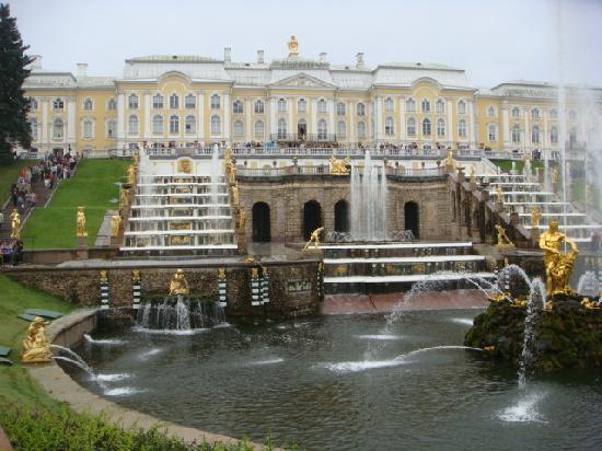 Szentpétervár, Oroszország: Peterhof