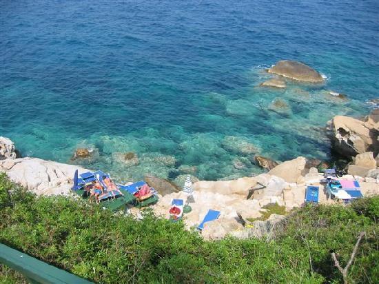 Il Pardini's Hermitage: Place to sun and swim