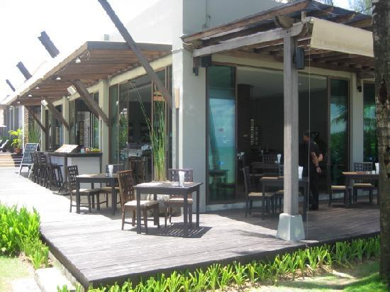 Chongfah Beach Resort: Seaborn restaurant