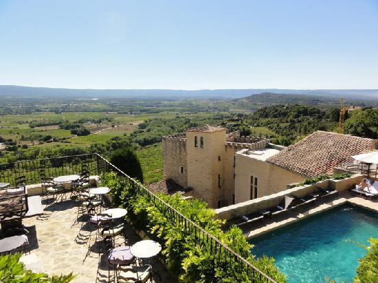 Hotel Crillon le Brave: Beautiful view of Provence
