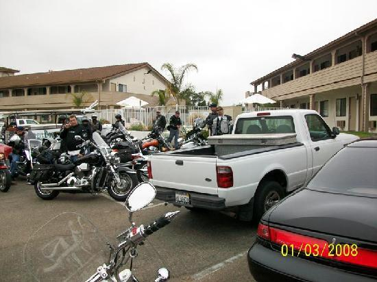 Arroyo Grande, Kalifornien: CaliforniaVTXriders at Premier Inn