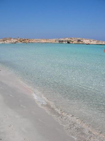Plage de Ses Illetes : spiaggia pulita