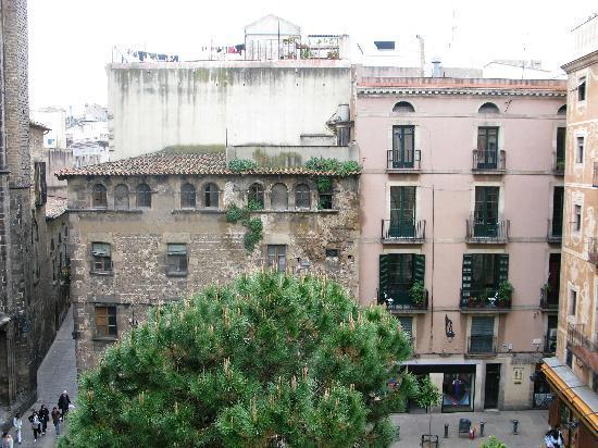 View from room picture of el jardi barcelona tripadvisor - Hotel el jardi barcelona ...