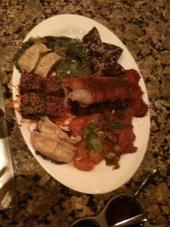 The Melting Pot: meat and seafood night out