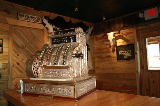 Desperados Cowboy Restaurant : Cash register