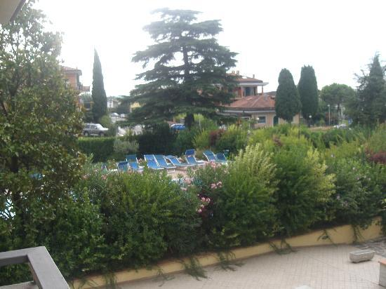 Gardenia Hotel: Blick aus Balkon