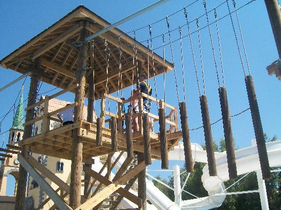 Holiday Village Rhodes: High Ropes