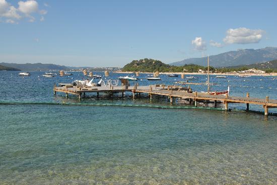 Grand Hôtel de Cala Rossa & Spa NUCCA: ponton de l'hôtel