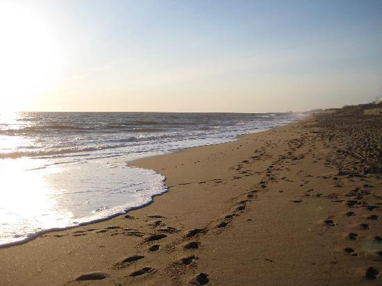 Sol a Gogo : beach in the evening