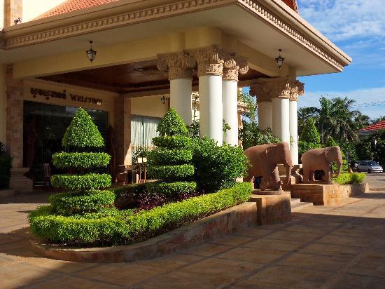 The Khemara Battambang I Hotel : The entry area