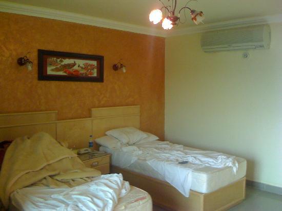 Horus Resort Menia: Room and Beds