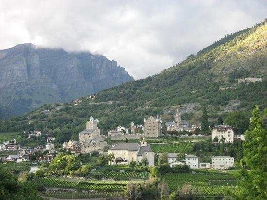 Kanton Valais, Schweiz: Leuk-stadt