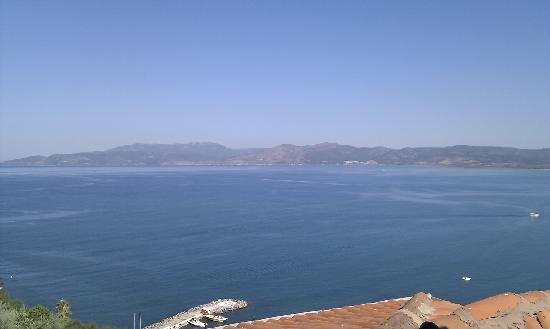 Labranda Ephesus Princess: Vue depuis le balcon de notre chambre