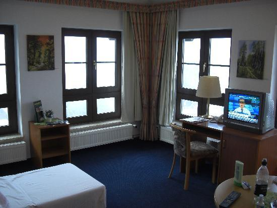 Gasthaus und Hotel Spreewaldeck: Our lounge/2nd bedroom (2nd floor)