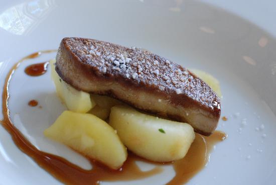 Fanoe, Denmark: Foie gras