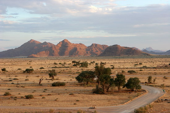 Kamanjab, Namibia: on the way