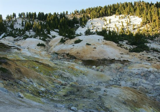 Parc national de Lassen Volcanic, Californie : Bumpass Hell