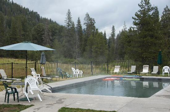 Chester, Californien: Drakesbad hot spring-fed pool