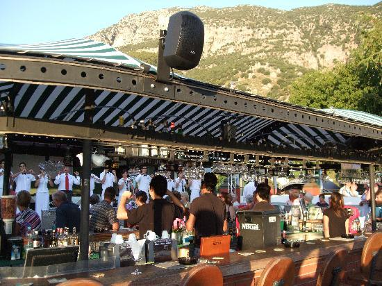Club Belcekiz Beach Hotel: plaza bar