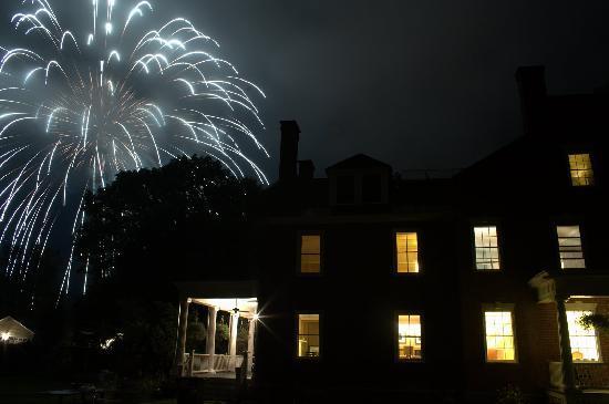 July Fireworks Over Snapdragon Inn