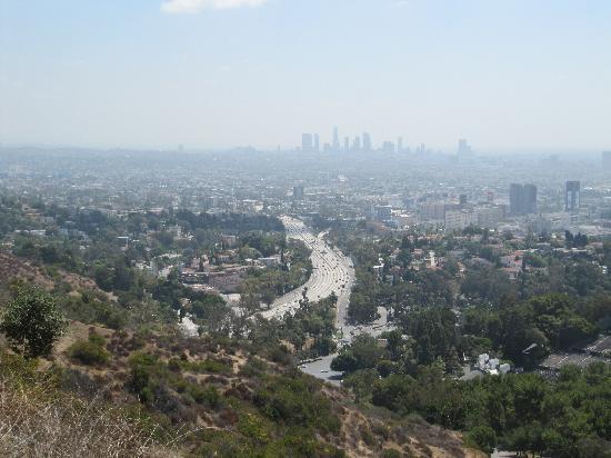 Beverly Hills, Kalifornien: Blick auf LA
