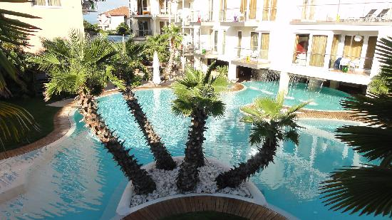 Color Hotel: Blick aus Suite 767