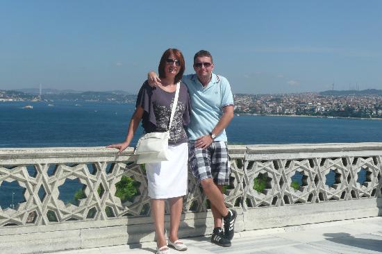 Nena Hotel: Blick von Topkapi - Zwischen Europa und Asien
