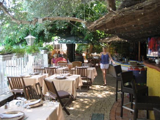 Le Mas de la Frigoulette : Terrace