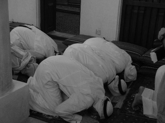 Sheikh Mohammed Centre for Cultural Understanding: un altro momento di preghiera