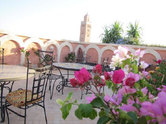 terrasse hotel salsabil marrakech