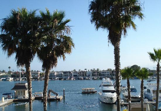 Balboa Bay Resort: la vue depuis notre chambre