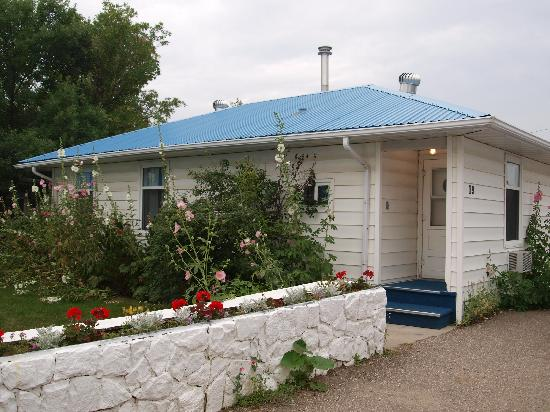 Bluebird Motel - our place for the night