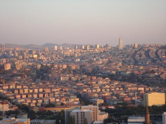 Ankara, Tyrkia: saturacion